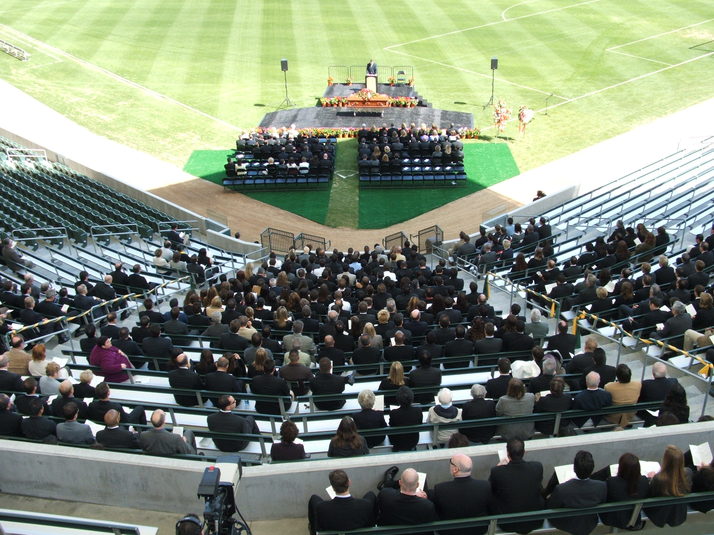 Athletic Field Memorial Service
